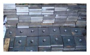 Анкерная плита М12 ГОСТ 24379.1-80